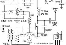 Electronic Schematics / by Gene Hudson