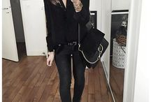 Ganz in schwarz....ich liebe es