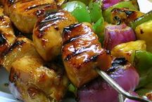 "KABOB'S YOUR UNCLE / The best food on sticks. We keep you ""posted"" with the best kabob recipes we find."