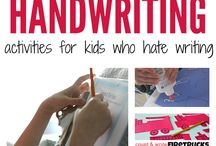 pencil grip & writing