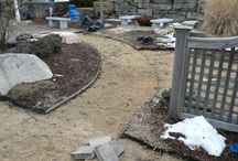 """Renovations have begun!  / We are beginning renovations in our outdoor design center for the spring! These images are of our """"demolition phase"""" of the project. We will continue to show you the development of the project. It's so exciting!"""