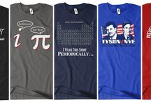 Math & Science Tees