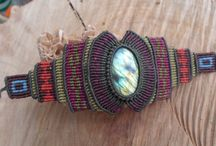 macrame bracelets by ARTEAMANOetsy