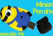 Minions DIY ideas / Crafts and Ideas to make Minions crafts. Me encantan los Minions por eso les hago muchas manualidades