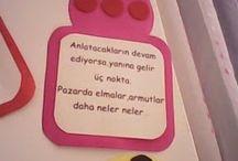 Türkçe etkinlikleri
