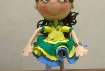 Boneca EVA em 3D - Times
