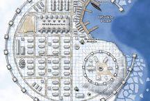 města a stavby fantasy