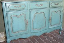China Cabinets and Buffets / Furniture makeovers with Chalk Paint®