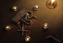 ★ black & gold luxe ★ / dark, baroque & weird inspiration in jewelry, fashion etc Ψ • ° ★ / by ephemere-etc