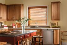 Wood Blinds - Woven Wood Blinds / Shades / Wood blinds and woven wood blinds are window covering ideas that have been popular for a long time. Top brands are making beautiful window treatments in a variety of styles, colors and with options you may not be familiar with. Take a look at some of these wood blinds and woven wood shades from Hunter Douglas, Lafayette Interior Fashions and Graber. More window treatment ideas on our site or in our Denver showroom.