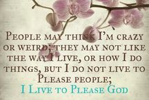Living for God / by Corina