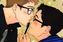 Nagisa Yuuki / Dibujos _ tutoriales_ Yaoi_ Yuri_Amor _Amistad de todo un poco pero primero que nada lo que me pidan
