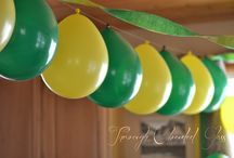 Green and Yellow / Everything Green and Yellow for the Green Bay Packers and the Oregon Ducks!