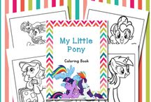 My Little Pony Homeschooling / MLP-themed educational & fun activities for families & kids! / by Pirate Family Fun & Learning