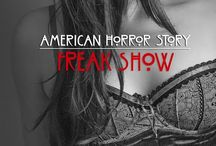 American Horror Story (AHS) / Freak Show / Série TV qui fait peur :) monstres créatures sang haute-couture cirque clown