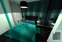 Sypialnia / Bedroom / Projekt sypialni