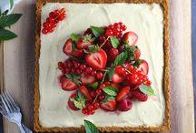 resep cake strawberry