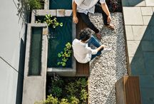 Landscaping-courtyards / Small domestic courtyards