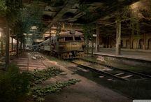 Les endroits abandonnés les plus incroyables / Maison , parc , ville , château , immeuble etc...