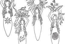 mitologia: dee e dei