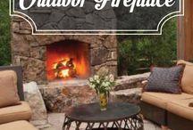 Outdoor fireplace/diy