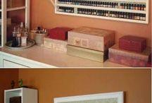 tablero para esmaltes de uñas