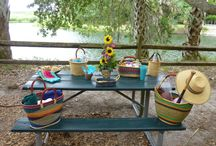 Bolga Baskets for your Summer fun! / Here are some ideas for using Bolga baskets while traveling or just having fun.