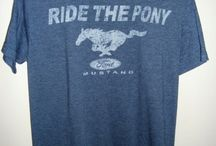 Ford Mustang / Ford Mustang T-shirts