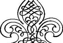 wzory reliefów