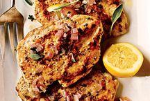 Chicken & Summer Vegetable Tostadas | MyRecipes.com