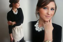 Holiday outfit ideas / Holiday outfit, holiday parties / by Caroline Lau