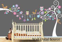 Kids room wall idea
