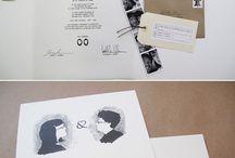 illustration invites