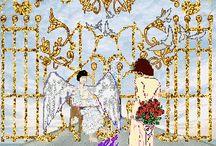 ANGELS & FAIRIES & FANTASY / by Donna Grodis
