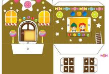 Paper house/casute