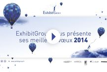 Bonne année 2014 / EXHIBIT GROUP vous souhaite une merveilleuse année et une bonne rentrée à tous !  Cliquez sur le lien pour découvrir notre carte de voeux animée.  http://www.exhibitgroup.fr/2014/