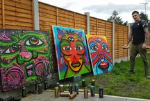 cowboysDavie Art & graff / some of my own paintings, murals & madness