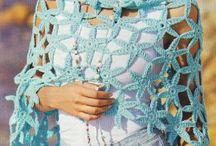 A crochet chal. bufandas...