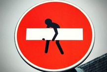 Art School- Street Art: Road Signs / by Elise & Ben Williams