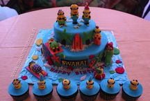Kids theme cakes / Tell us what you wish and we will make a yummy eye-catching custom 3D cake, designed specially for your kid. For orders, pictures of cakes, cupcakes and reviews, please visit our website http://www.sweetmantra.in