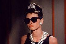 Idol, icon, fashion goddess, beloved.--Audrey Hepburn / by Laetitia Diouet