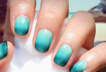 Nails:) / Nail art isn't easy! Keep trying:)