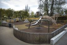 Jellicoe Water Gardens / Jellicoe Water Gardens is a Bespoke Climbing frame which integrates the use of Steel and French Green oak creating a fresh new stimulating space for children of all ages.