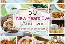 New Year's Celebration / Food & Party Ideas for NYE & New Years Day