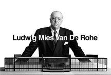Architect Ludwig Mies Van De Rohe