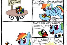 if you give a pony rubick cube