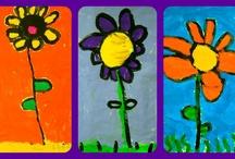 ART / Art activities for the elementary school classroom / by Time 4 Kindergarten