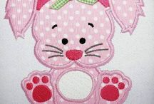 Bunny applique