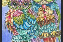 Baykuş patchwork