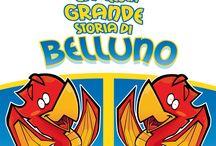 Belluno by Luca Stella / Belluno vista da un artista